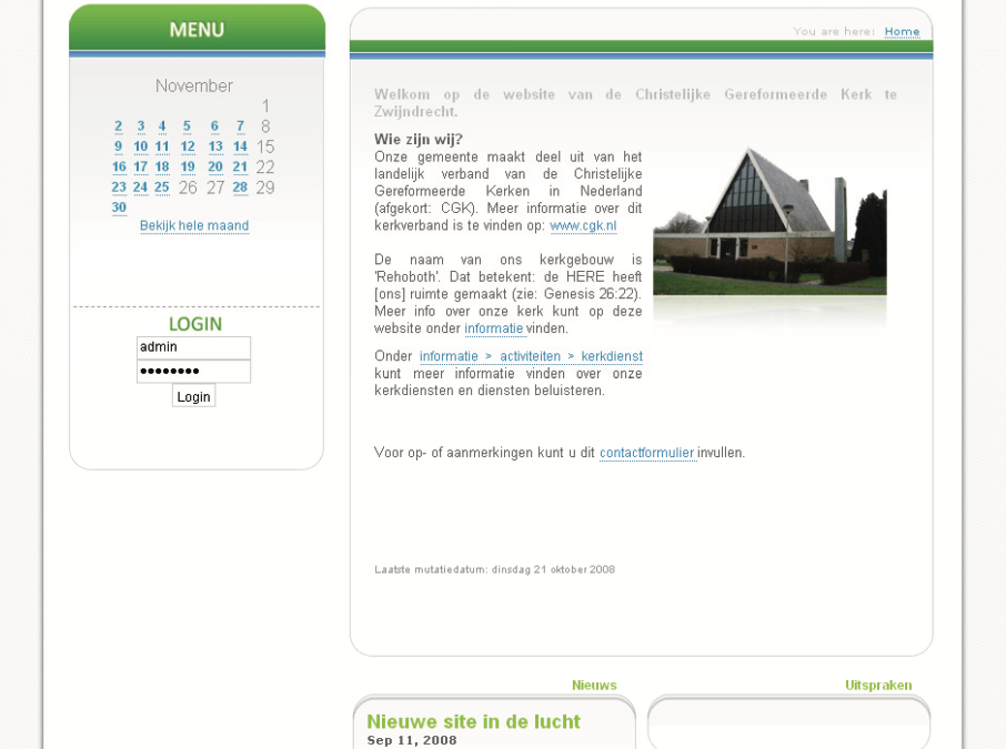CGK Zwijndrecht website