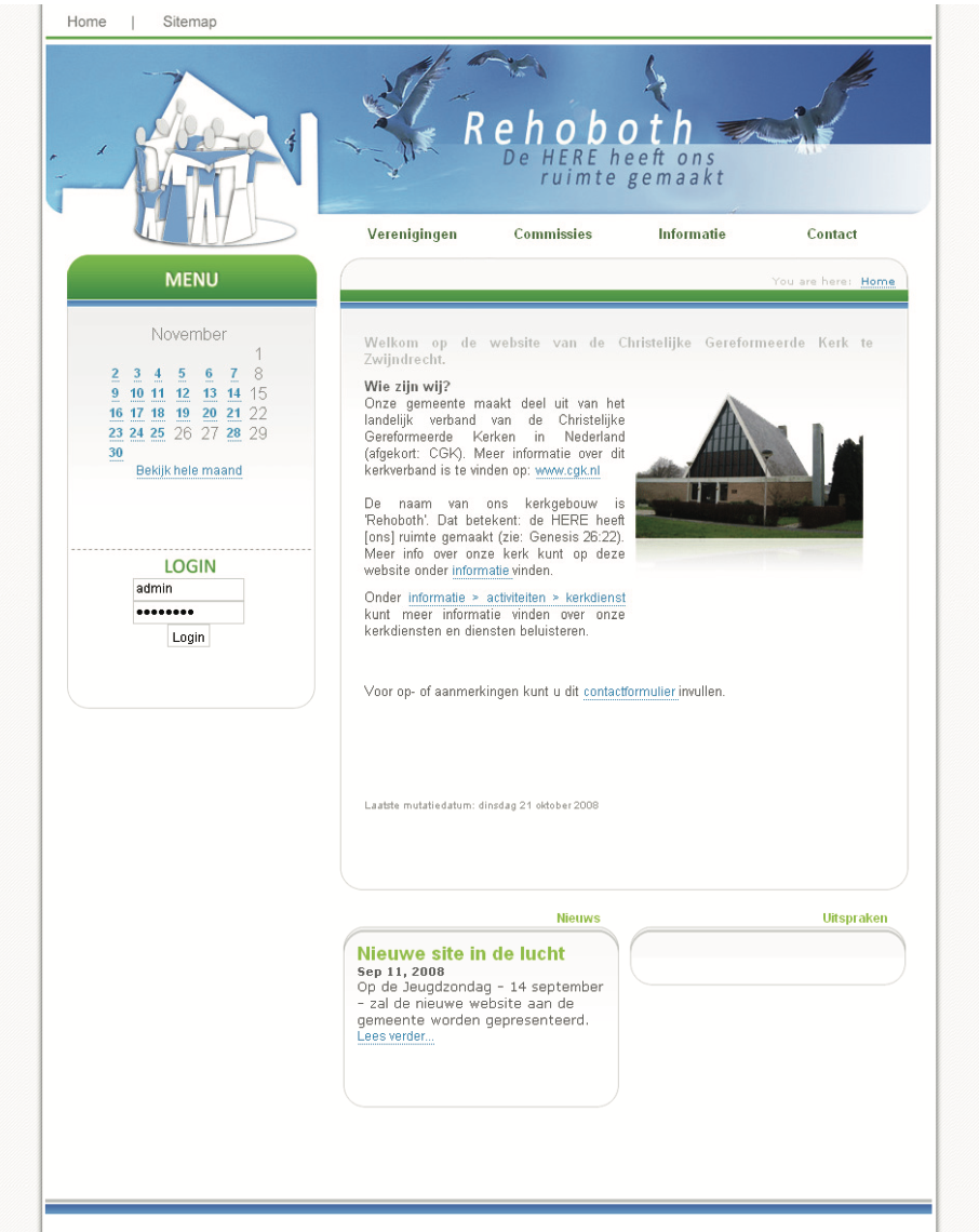 CGK Zwijndrecht website