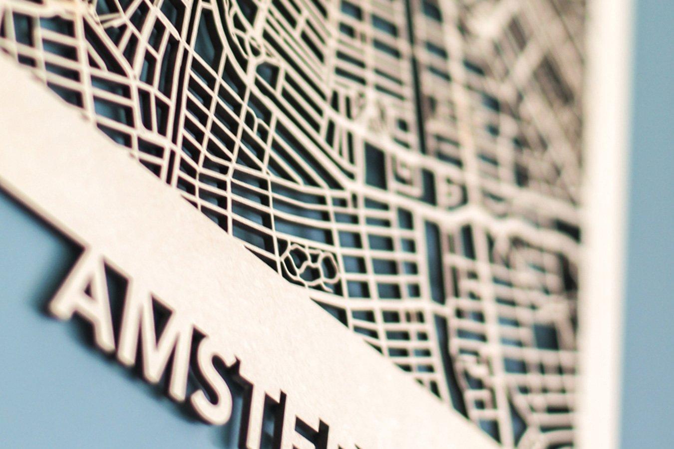 MAACKT Citymap Amsterdam