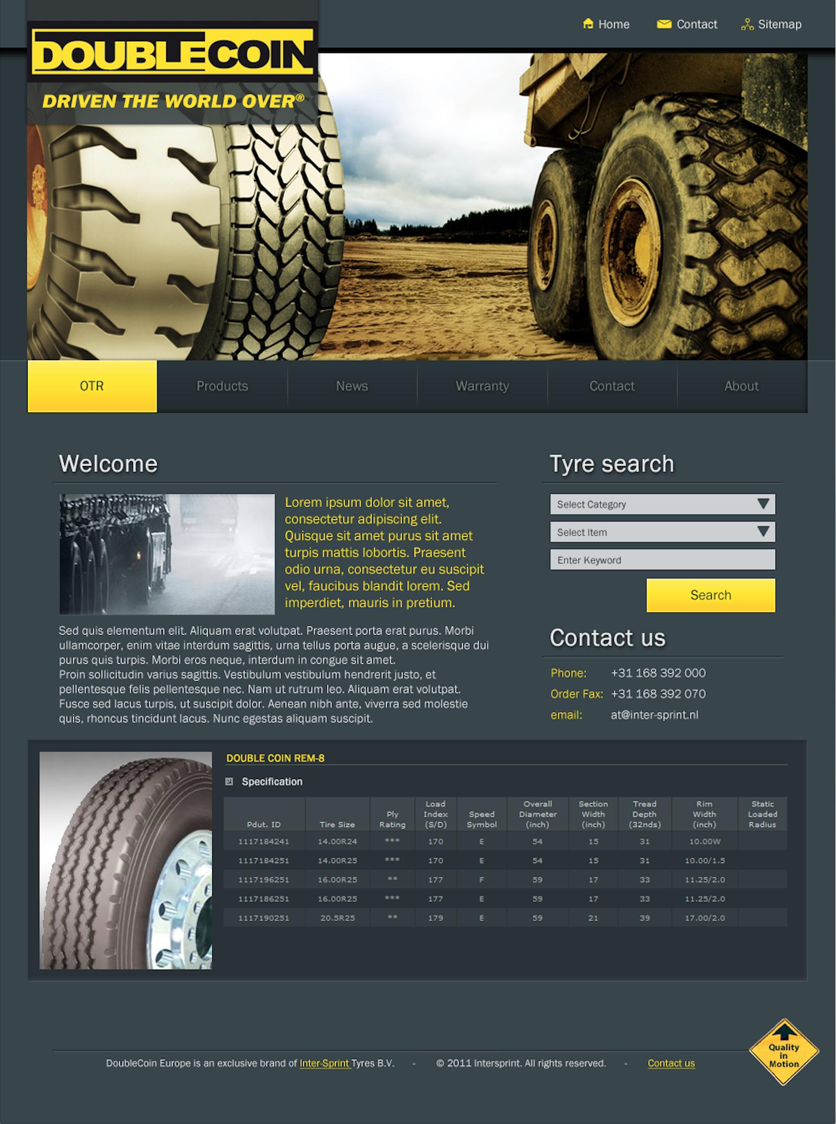Doublecoin Europe website
