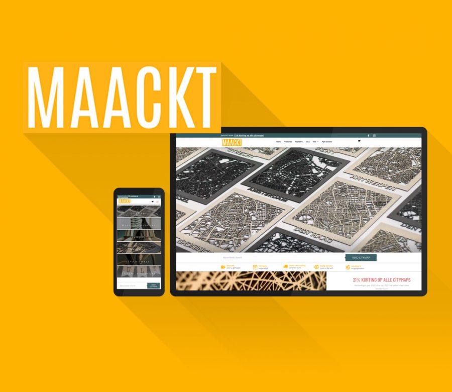 MAACKT website revision