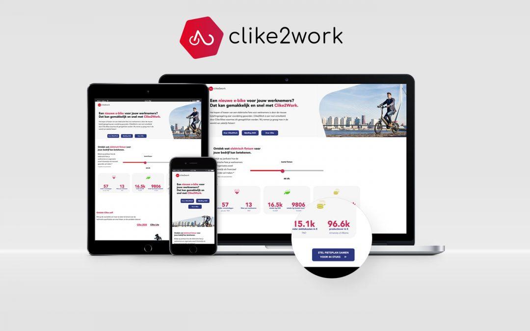Clike2Work b2b platform